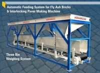 Automatic Feeding System For Fly Ash Bricks