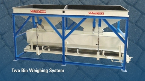 Two Bin Weighing System For Fly Ash Brick Machine