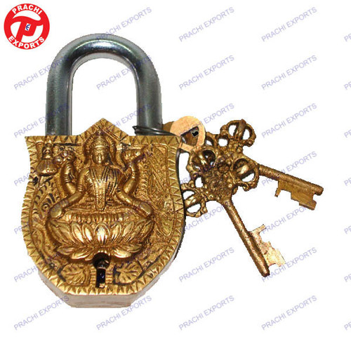 Lock W/ Keys Laxmi Design