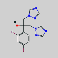 Fluconazole for peak identification