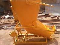 Banana Concrete Bucket Rack