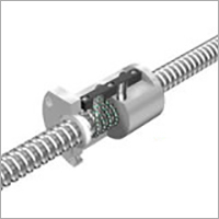 Precision Caged Ball Screw