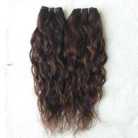 Natural unprocessed wavy Human hair
