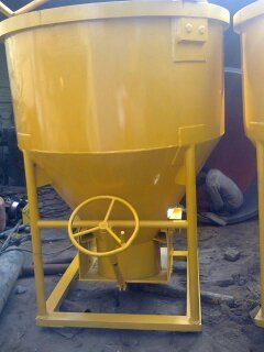 Cone Type Jack Operated Concrete Bucket