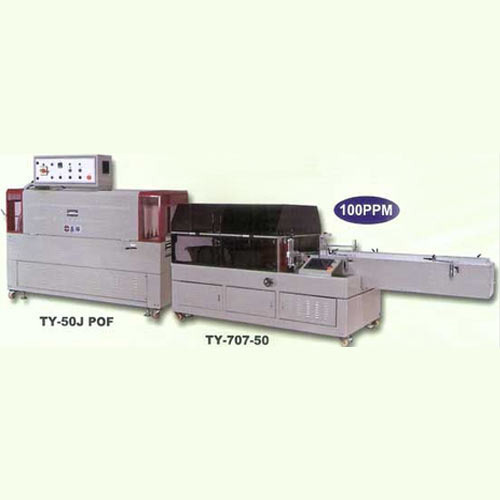 Automatic High Speed Side Sealer & Shrink Tunnel