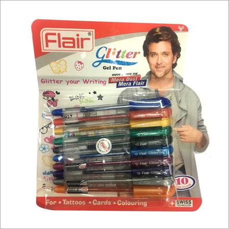 Glitter Pens Set