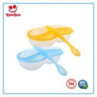 Plastic Baby Bowl with Spoon
