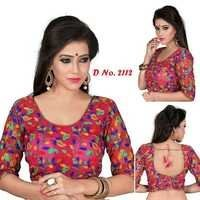 Kachhi embroidered cotton blouse