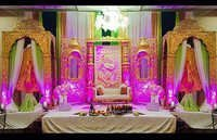 Radha Krishan Heavy Carved Stage