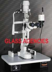 Slit Lamp Haag Streit Type Three step with Camera