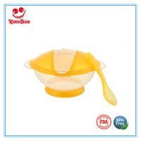 Infant Feeding Suction Bowl With Spoon