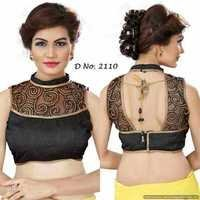 cotton with net blouse