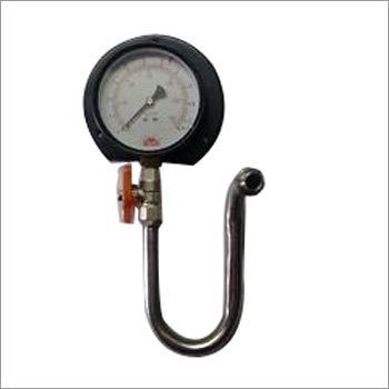 Pressure Gauge with Syphon