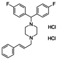 Flunarizine dihydrochloride - reference spectrum
