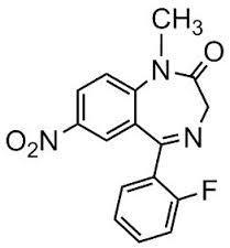 Flunitrazepam - reference spectrum