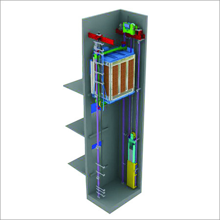 MRL Elevator Section