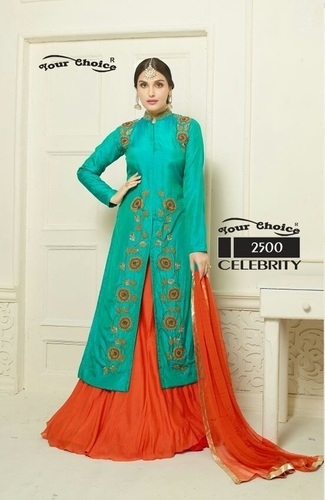 Fashionable Designer Party Wear Salwar Kameez Suit