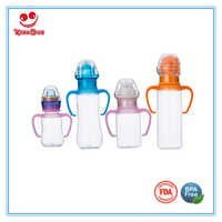 PC Animal Rattle Baby Milk Bottle in Standard Neck