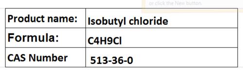 Isobutyl chloride