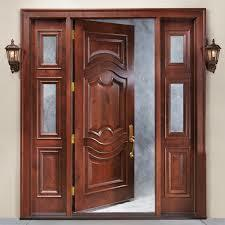 Rose Wood Door
