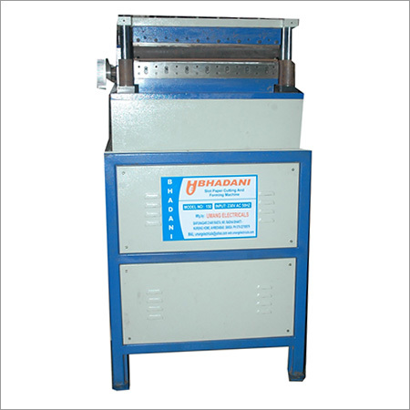 Slot Paper Forming Machine