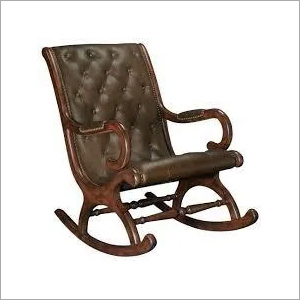 Teak Wood Rocking Chair