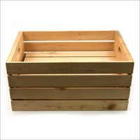 Wooden Packing Crate Box