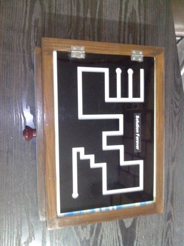 Pencil Maze Test Board for Rehabilitation