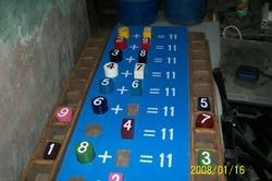 Math- Puzzle Peg Board