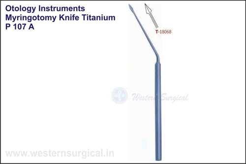 Myringotomy Knife Titanium