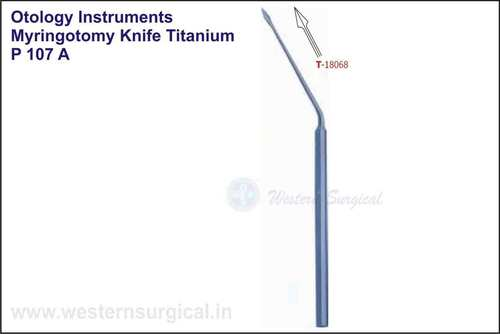 Myringotomy Knife Titanium