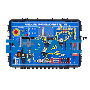 Portable Pneumatics Troubleshooting Learning System