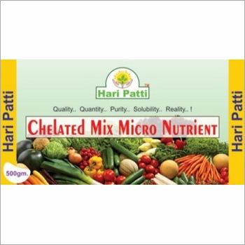 Mix Micro Nutrients Edta  Grade  1 2