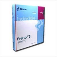 Evertor Everolimus 5 mg Tablet