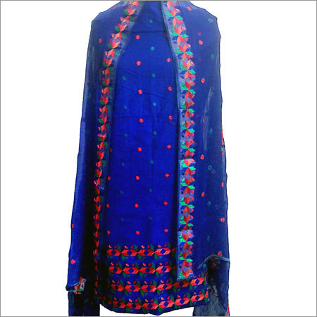 Cotton Phulkari Suit
