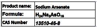 Sodium Arsenate