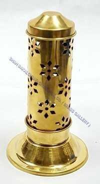 Brass Jali Agardaan Small