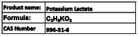 Potassium Lactate
