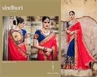 Buy Embroidered Work Designer Saree Online