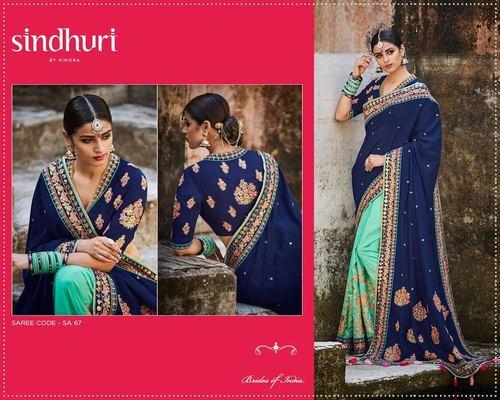 Shop Bridal Heavy Work Saree Online