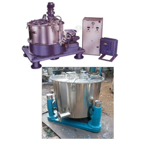 Bottom Discharge Vertical Centrifuge Machine