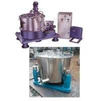 Bottom Discharge & Vertical Centrifuge