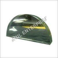 Semi circular Glass slab