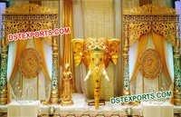 Rajwada Theme Designer Backdrop Panels
