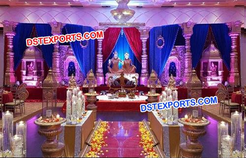 Raj Mahal Wedding Fiber Stage
