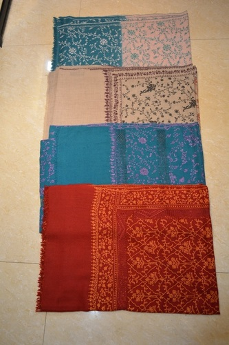 Pashmina All Over Taarkashi Embroidery Scarves
