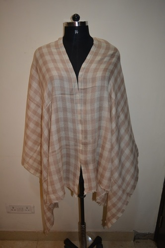 Pashmina Check Strips Scarves