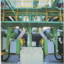 Coating Section At Paper Machine