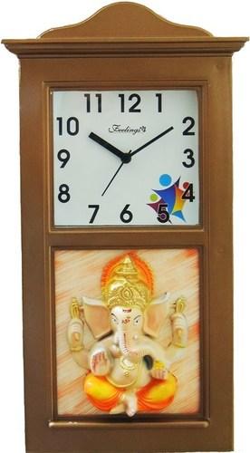 feelings Signature Ganesh wall clock