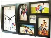 Feelings Rainbow Photoframe/collage wall clock